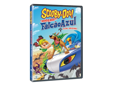DVD Scooby-Doo - A Máscara Do Falcão Azul — Infantil