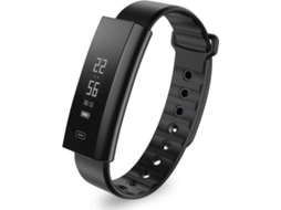 Smartwatch ZEBLAZE Arch Preto — Bluetooth 4.0 | 80 mAh | Android e iOS