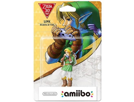 Figura Amiibo Link Ocarina Time — Coleção: The Legend of Zelda