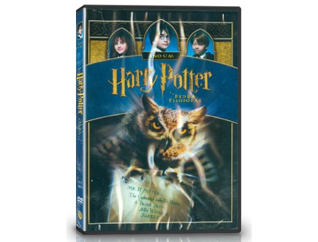DVD Harry Potter E A Pedra Filosofal — Do realizador Chris Columbus