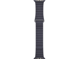 Bracelete APPLE 42mm Midnight Blue Leather Loop - Medium — Bracelete | 42 mm | Média