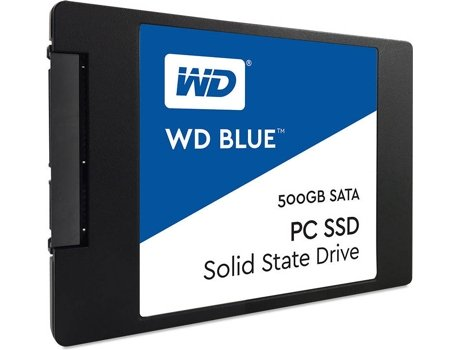 Disco SSD WESTERN DIGITAL Blue Sata 2.5' 500 GB — SATA III | 500 GB