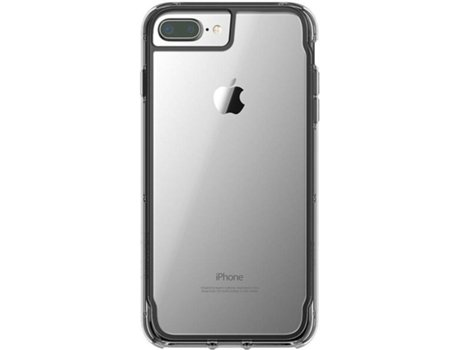 Capa GRIFFIN Clear iPhone 6 Plus, 6s Plus, 7 Plus, 8 Plus Preto — Compatibilidade: iPhone 6 Plus, 6s Plus, 7 Plus, 8 Plus
