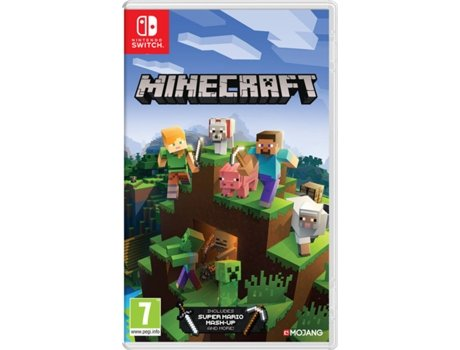 Jogo Nintendo Switch Minecraft (Nintendo Edition)   [6598022 ]
