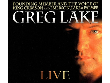 CD Greg Lake - Live