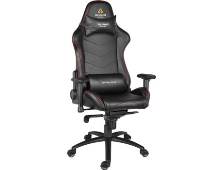 Cadeira Gaming ALPHA GAMER Epsilon Preto — Preto