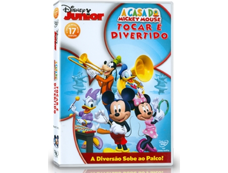 DVD A Casa do Mickey Mouse: Tocar é Divertido (Dobrado: Sim) — De: Walt Disney