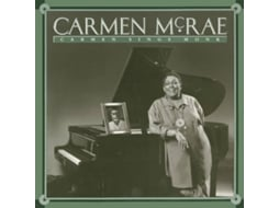 CD Carmen Mcrae - Carmen Sings Monk — Jazz