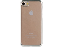 Capa MUVIT Marco Bling iPhone 7, 8 Transparente — Compatibilidade: iPhone 7, 8