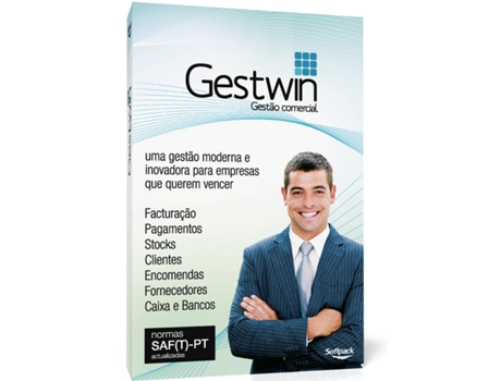 Software de GESTWIN SOFTPACK Full Anual — Software | Gestão & Finanças