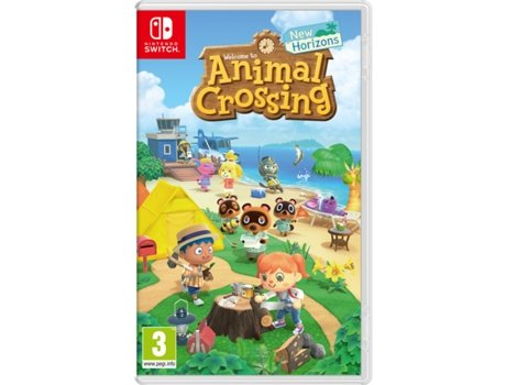 Jogo Nintendo Switch Animal Crossing: New Horizons (Infantil - M12) | [6935930 ]