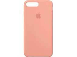 Capa APPLE Silicone Flamingo iPhone 7 Plus, 8 Plus Rosa — Compatibilidade: iPhone 7 Plus, 8 Plus