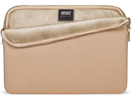 Bolsa ARTWIZZ Neoprene MacBook Pro 15'' 2016 Dourado — 15''