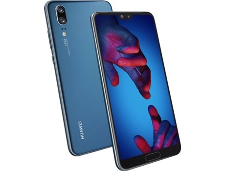 Smartphone HUAWEI P20 128GB Azul — Android OS 8.1 / Octa-core 4x2.36 + 4x.1.8 GHz / 4GB RAM / Dual SIM