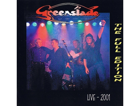 CD Greenslade - Live - 2001 The Full Edition