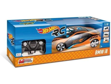 12767f89ca Carro Telecomandado R C HOT WHEELS BMW I8 (Idade Mínima  3 - Até  12 km h)