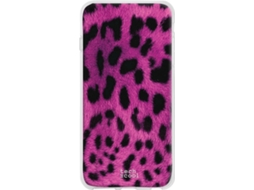 Capa Honor 20 Lite TECHCOOL Leopardo Rosa