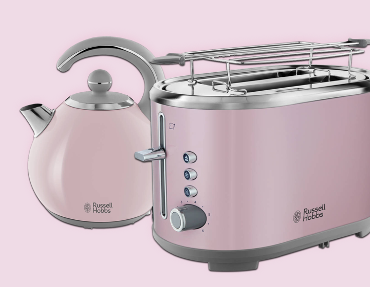 RUSSEL HOBBS Bubble Soft Pink