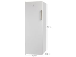 Arca Vertical INDESIT UI6 F1T W — A+ / No Frost / 222 Litros