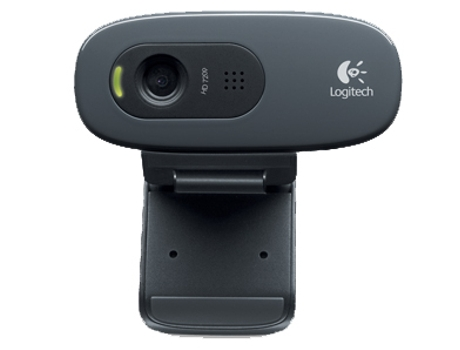 Webcam LOGITECH 3MP Hd 720P C270 — 3 MP | C/ microfone