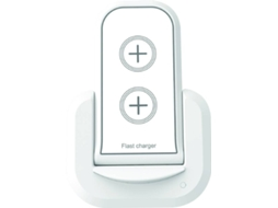 Base de carga MUVIT Qi 2A Branco — Wireless Qi | 2A
