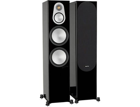 Coluna  MONITOR AUDIO Silver 500 Preto — 205W | 30-35Hz