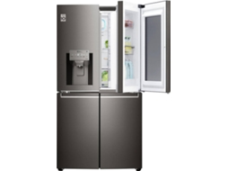 Frigorífico Americano LG InstaView GMX936SBHV — A+ | No Frost |  Refr. 371 L Cong. 200 L