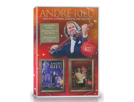 DVD André Rieu - Christmas Around The World + The Christmas I Love — Clássica
