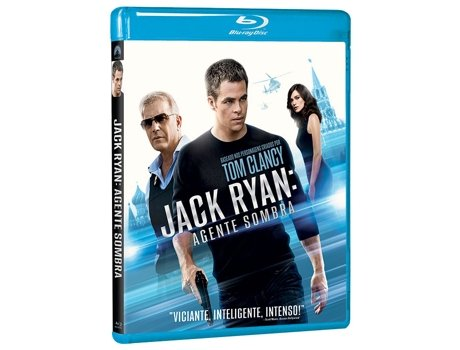 Blu-Ray Jack Ryan - Agente Sombra — Do realizador Kenneth Branagh