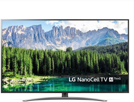 TV  LG Nano 55SM8600 (LED - 55'' - 140 cm - 4K Ultra HD - Smart TV) — Nano Cell Display, Ultra Luminance, ?7 2nd generation Processor Edge Local Dimming, HFR 4K Cinema HDR, DOLBY VISION, HDR10 Pro, HLG Pro, Advanced HDR by Technicolor, Magic remote, 2.0 ch 20W