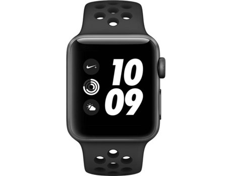 APPLE Watch Nike + 38mm Space Grey Aluminium Case Anthracite Black Band — iOS / 38mm / Bluetooth 4.2 e Wi-fi