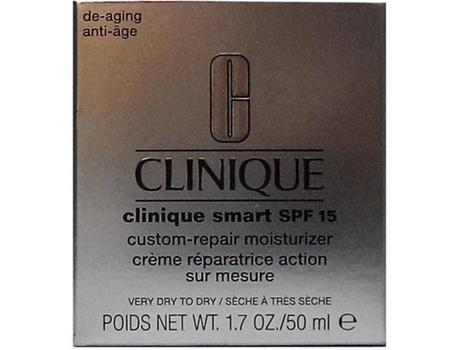 Creme Hidratante Clinique Smart Broad Spectrum Custom-Repair Spf 15 (50 ml)