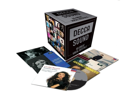 CD Decca Sound: 55 Great Vocal Recitals — Clássica