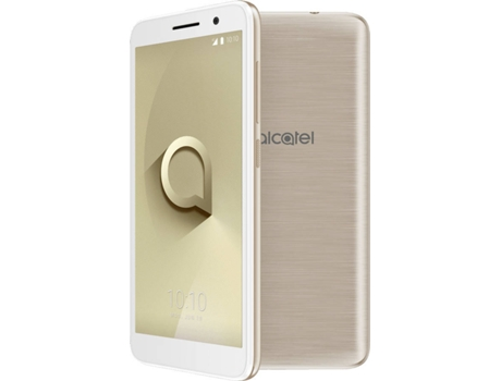 Smartphone ALCATEL 1 8GB Dourado — Android 8 | 5'' | Quad-Core | 1 GB RAM