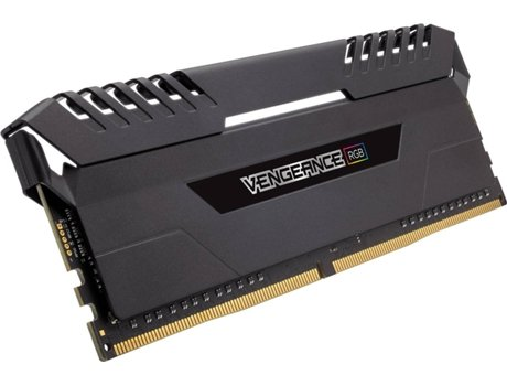 Memória RAM CORSAIR Vengeance Black Heat Spreader 16GB DDR4 2666Mhz — 16GB | DDR4 | 2666Mhz