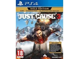 Jogo PS4 Just Cause 3 - Gold Edition — Ação/Aventura