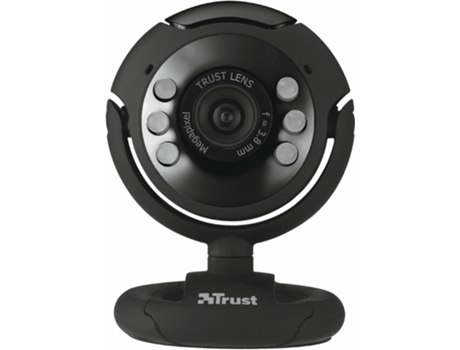 Webcam TRUST 1.3 Spotlight Pro — 3 MP / C/ microfone