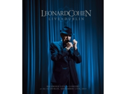 Blu-Ray  Leonard Cohen Live in Dublin — Pop-Rock Internacional