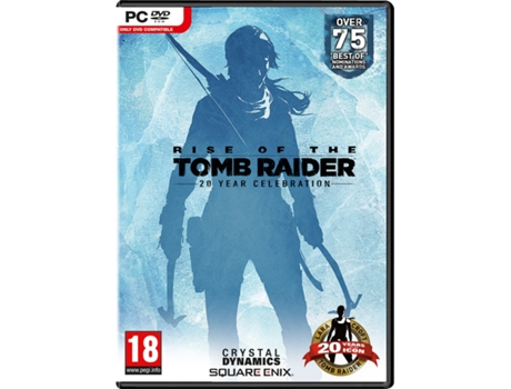 Jogo PC Rise Of The Tomb Raider - 20 Year Celebration — Ação/Aventura / Idade mínima recomendada: 18