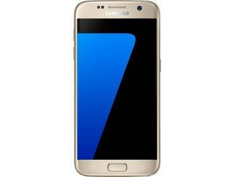 Smartphone MEO Samsung Galaxy S7 Dourado — Android 6.0 / 5.1'' / OctaCore 64bits