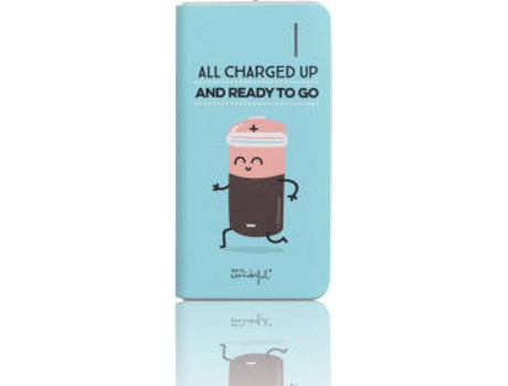Powerbank MR. WONDERFUL All Charged Azul — 4000 mAh