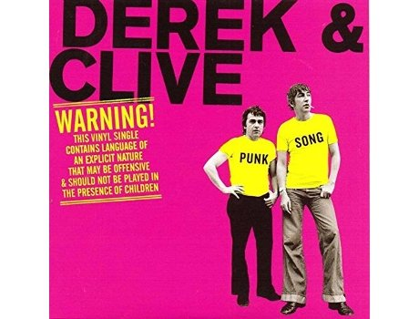 Vinil Derek And Clive - Punk Song/This Bloke Came Up to Me/Nurse — Pop-Rock
