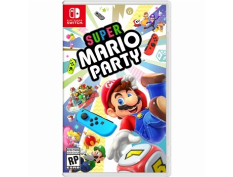 Jogo Nintendo Switch Super Mario Party — Wi-Fi