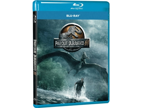 Blu-Ray Parque Jurássico III — De: Joe Johnston | Com: Sam Neill,  William H. Macy,  Téa Leoni