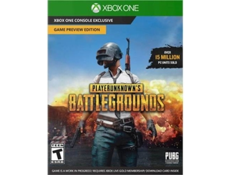 Jogo Xbox One Playerunknown's Battleground — FPS | Idade mínima recomendada: 12