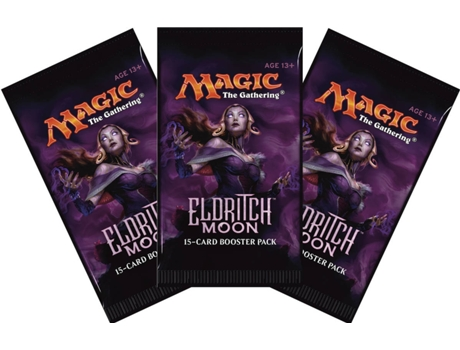 Pack Cartas Magic The Gathering Eldritch Moon Blister (3) — Blister com 3 boosters de 15 cartas