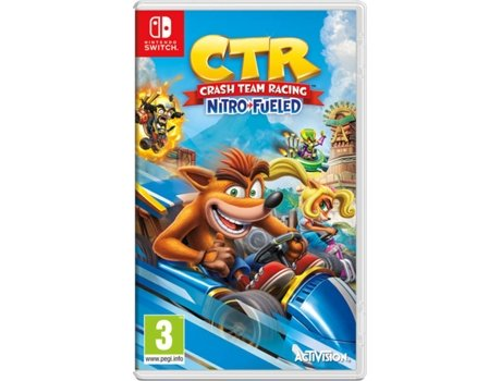 Jogo Nintendo Switch Crash Team Racing Nitro-Fueled (Corridas - M7)