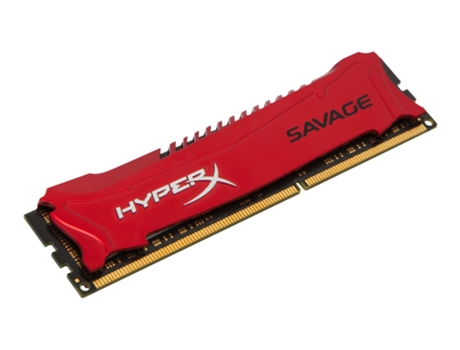 Memória RAM DDR3 4GB 1600 MHz HyperX CL9 Savage — 4 GB | 1600 MHz | DDR3