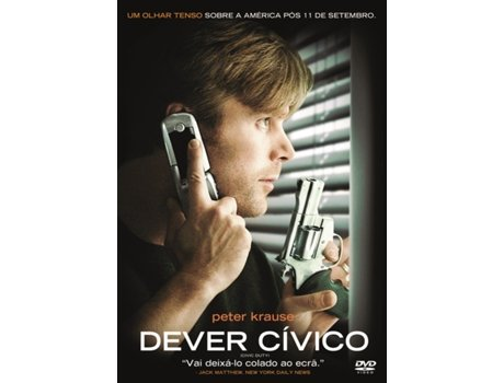 DVD Dever Cívico — De: Jeff Renfroe | Com: Peter Krause,Kari Matchett,Richard Schiff,Khaled Abol Naga