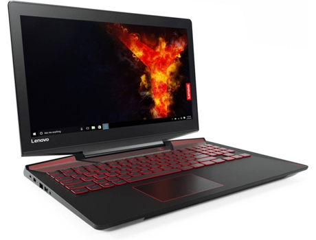 Portátil Gaming 15.6'' LENOVO Legion Y720-15IKBN-248 — Intel Core i7-7700HQ / 16 GB / 512 GB